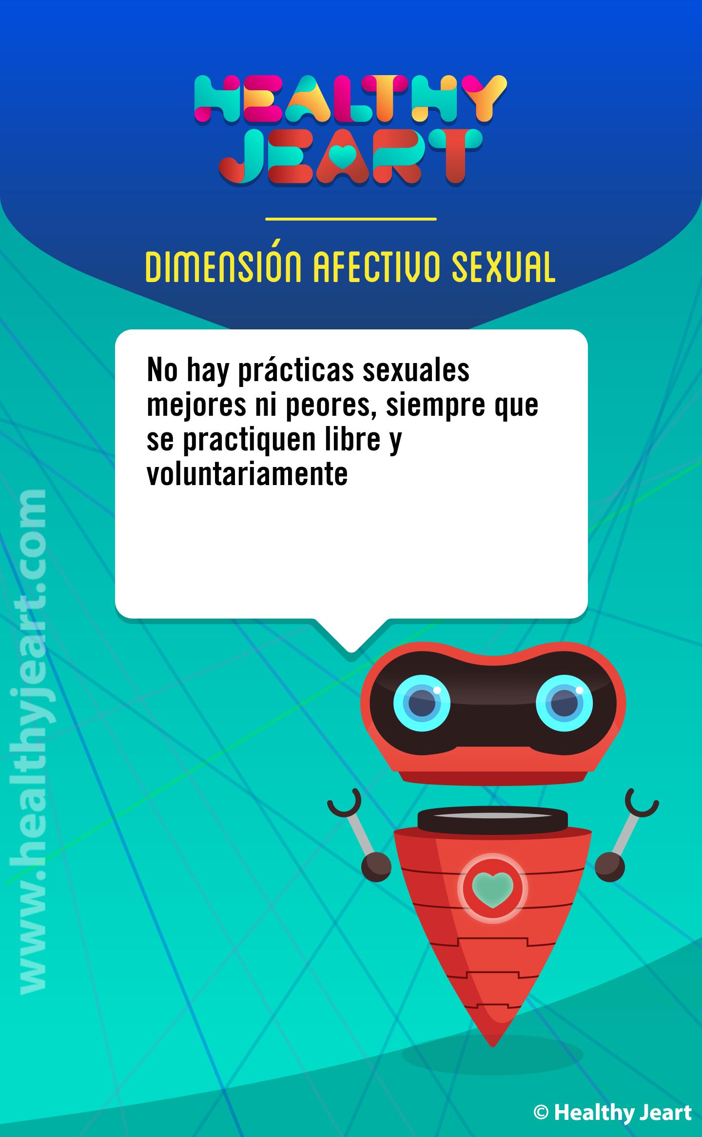 No hay prácticas sexuales mejores ni peores, siempre que se practiquen libre y voluntariamente