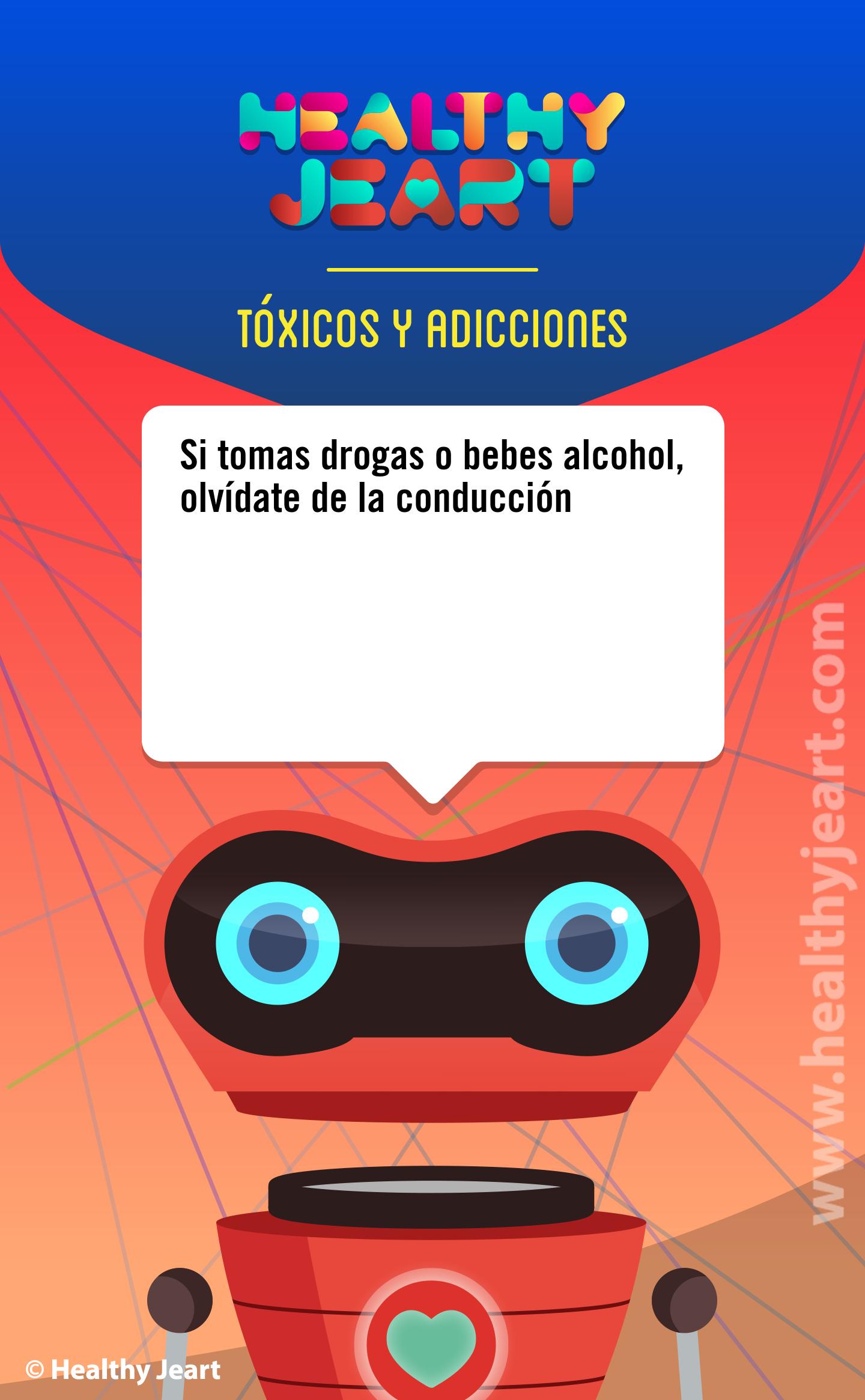 Si tomas drogas o bebes alcohol, olvídate de la conducción