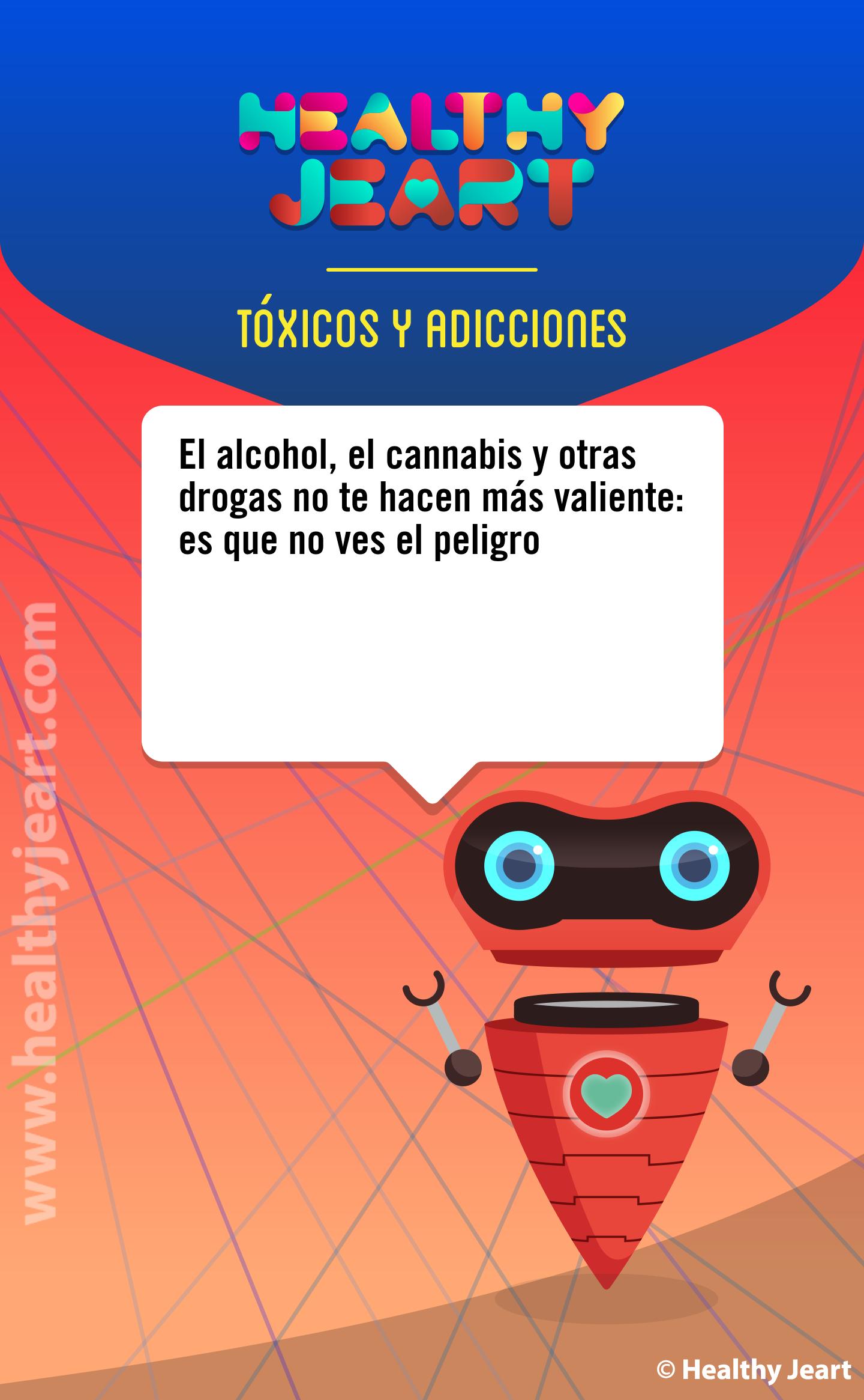 El alcohol, el cannabis y otras drogas no te hacen más valiente: es que no ves el peligro